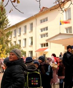 Ecole de Doroțcaia. Photo: Damien Dubuc