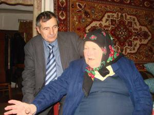 Oleksandra Ivanivna & Olexandr Ushynskyi.