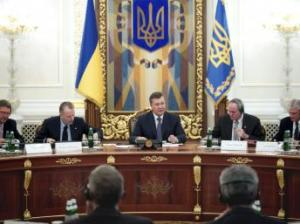 Cérémonie de l'accord de partage de production entre l'exécutif ukrainien et la compagnie américaine Chevron.  Photo: Reuters