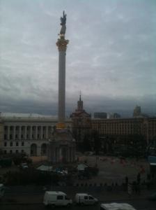 Maidan Nezalezhnosti, 30 novembre