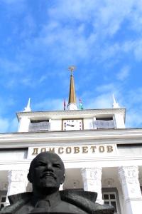 La Maison des Soviets, Tiraspol Photo: Damien Dubuc, Octobre 2013
