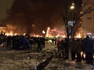 Kyiv, Hrushevskoho ul., 23/01/2014