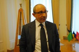 Hennadiy Kernes in his Mayor's office in Kharkiv, 04.04.2014.