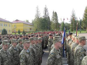 Over 1,200 soldiers from 15 different countries take part in the exercises. Here on 15/09/2014. Source: Ministry of Defense of Ukraine.