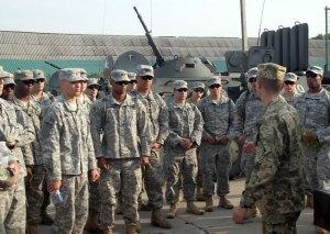 U.S. troops, 15/09/2014.  Source: Ministry of Defense of Ukraine