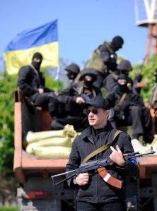 Oleh Lyashko, politicien en guerre.  Source: site officiel du Parti Radical d'Oleh Lyashko.