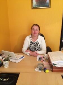Elena Stativa. Sloviansk, le 14/10/2014