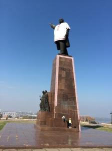 Lénine et sa vyshyvanka