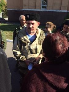 Pavel Dremov. Stakhanov, le 12/10/2014.