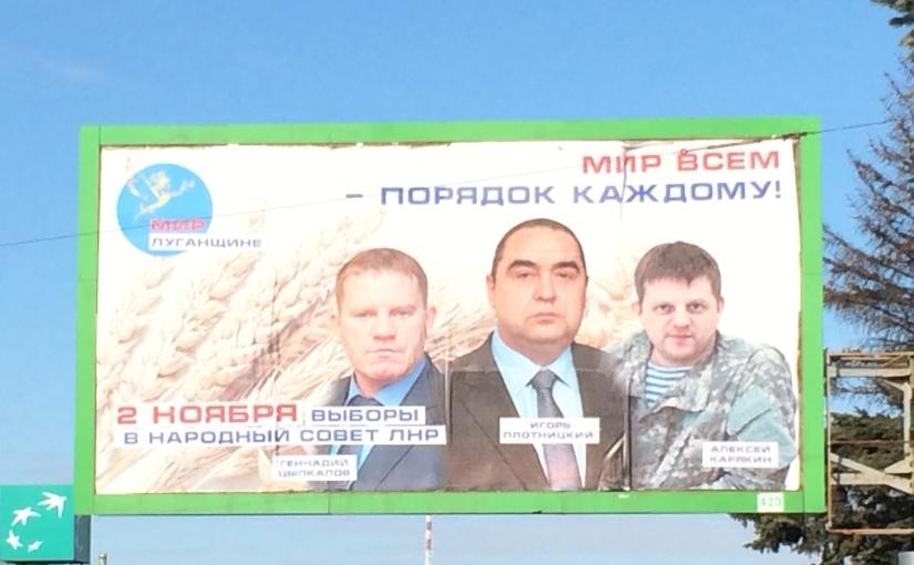 Separatist LNR prepares for separatedelections