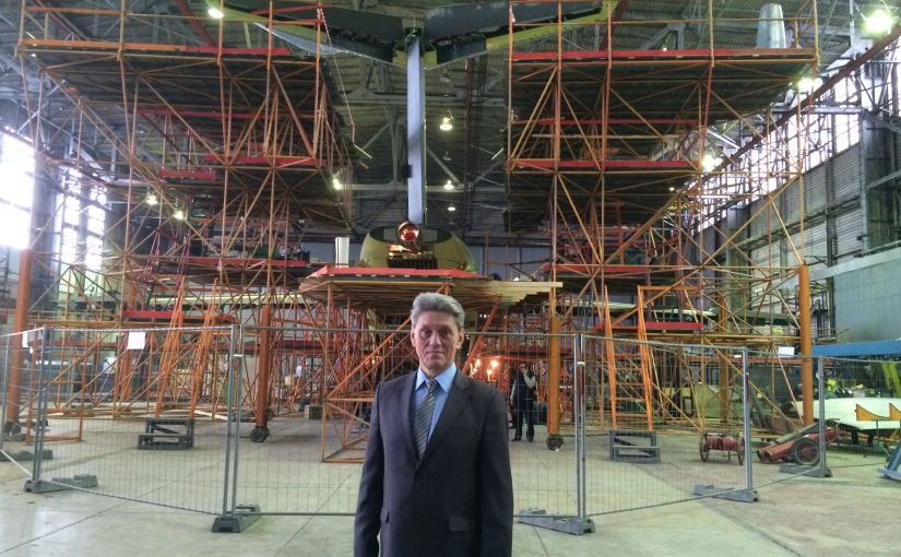 RFI: L'avionneur Antonov cloué ausol