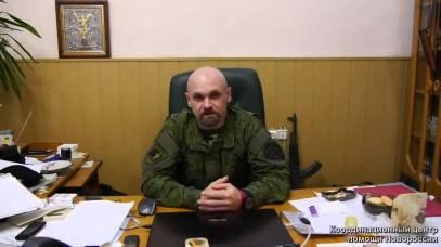 "Alekseï Mozgovoy, chef de la Brigade ""Fantôme""."