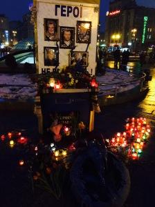 Commémorations sur la place Maïdan, le 20/02/2015