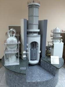 Maquette d'un réacteur VVER, Enerhodar