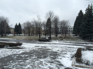 Centre de Debaltseve, le 04/02/2015.