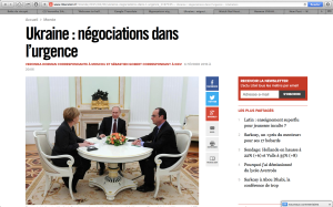 Capture d'écran du site de Libération.