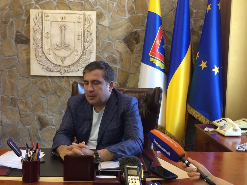 RFI: Saakachvili/Iatseniouk, quand deux leaders se font la «guéguerre»