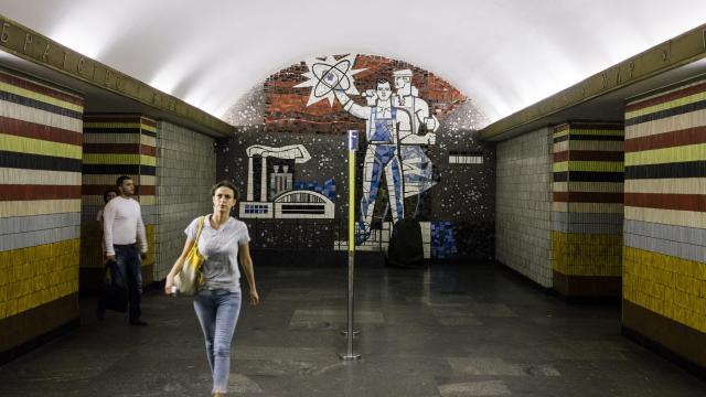 Ouest France: Kiev fait la chasse aux symbolescommunistes