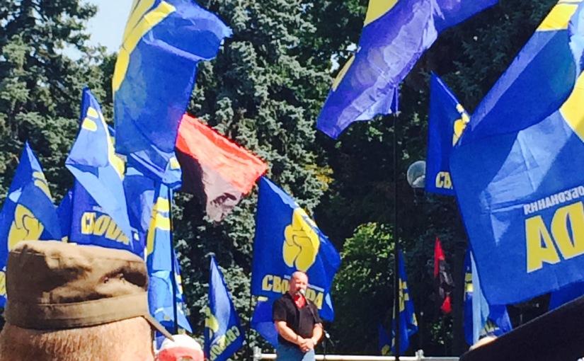 La Tribune de Genève: L'extrême Svoboda surfe sur la «trahison» deKiev