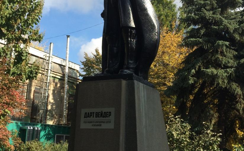 Libération: Pourquoi Dark Vador a remplacé Lénine àOdessa