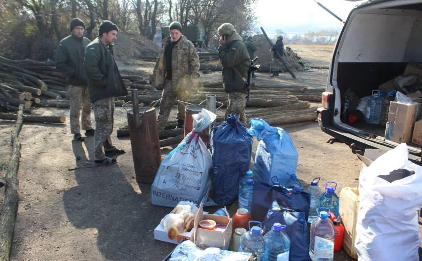 RFI: Des Volontaires au Secours de l'Arméeukrainienne