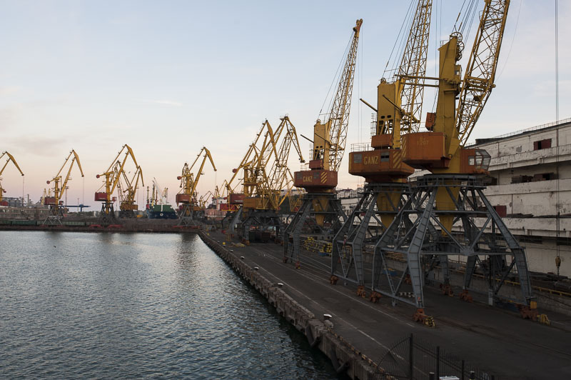 P@ges Europe: Les ports d'Odessa; l'impossible modernisation?
