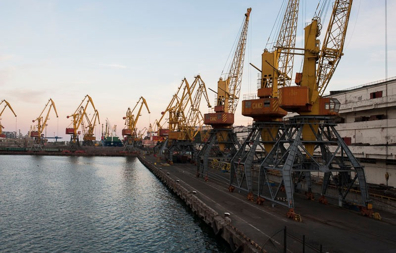 P@ges Europe: Les ports d'Odessa; l'impossible modernisation?