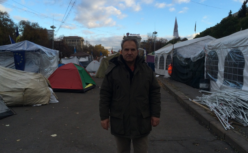 In Chisinau, The Preacher of the Tent City