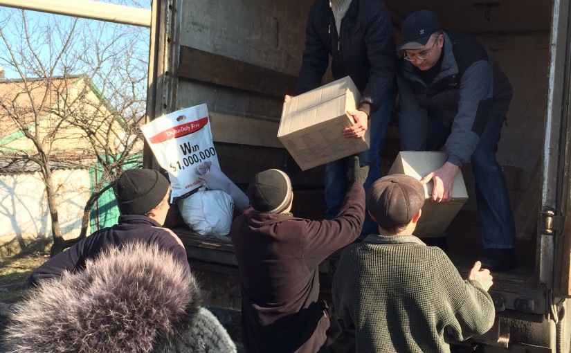 RFI: Dans le Donbass, l'humanitaire la dernièrechance