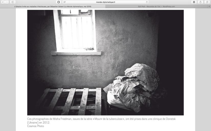 Le Monde Diplomatique: L'Ukraine livrée aux maladiesinfectieuses