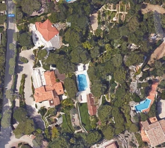 Villa depuis Google Maps