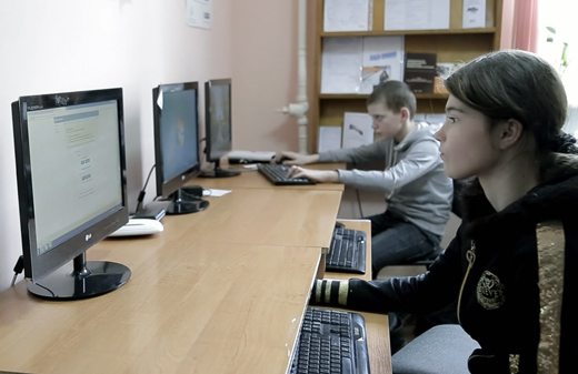 P@ges Europe: Les Villages Skype d'Ukraine