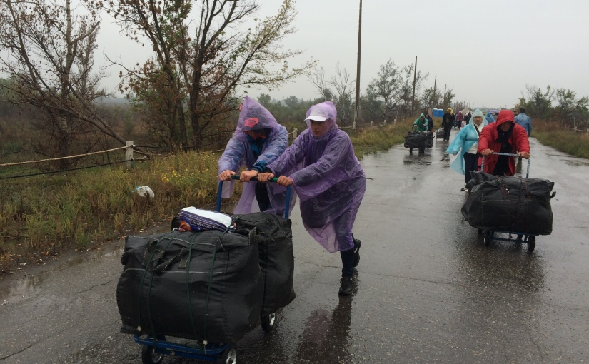 TDG: Le Donbass, oublié du monde, vit au bord de la crisealimentaire