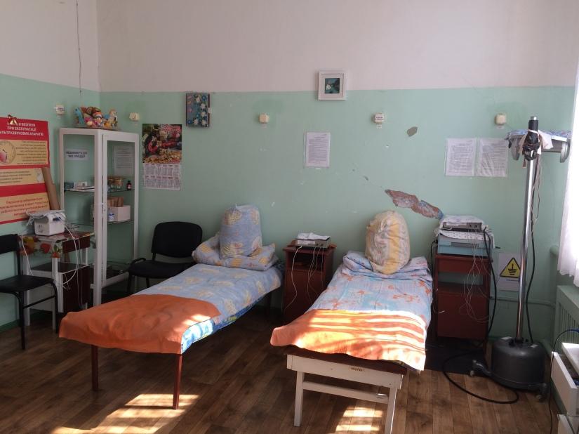 RFI: Les hôpitaux en ruines dans l'est del'Ukraine