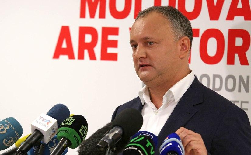 Moldavie: Expliquer le succès du «Donald Trump» moldave