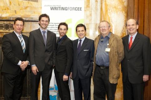 CEE-Journalistenpreisverleihung